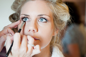 Wedding Make Up Application